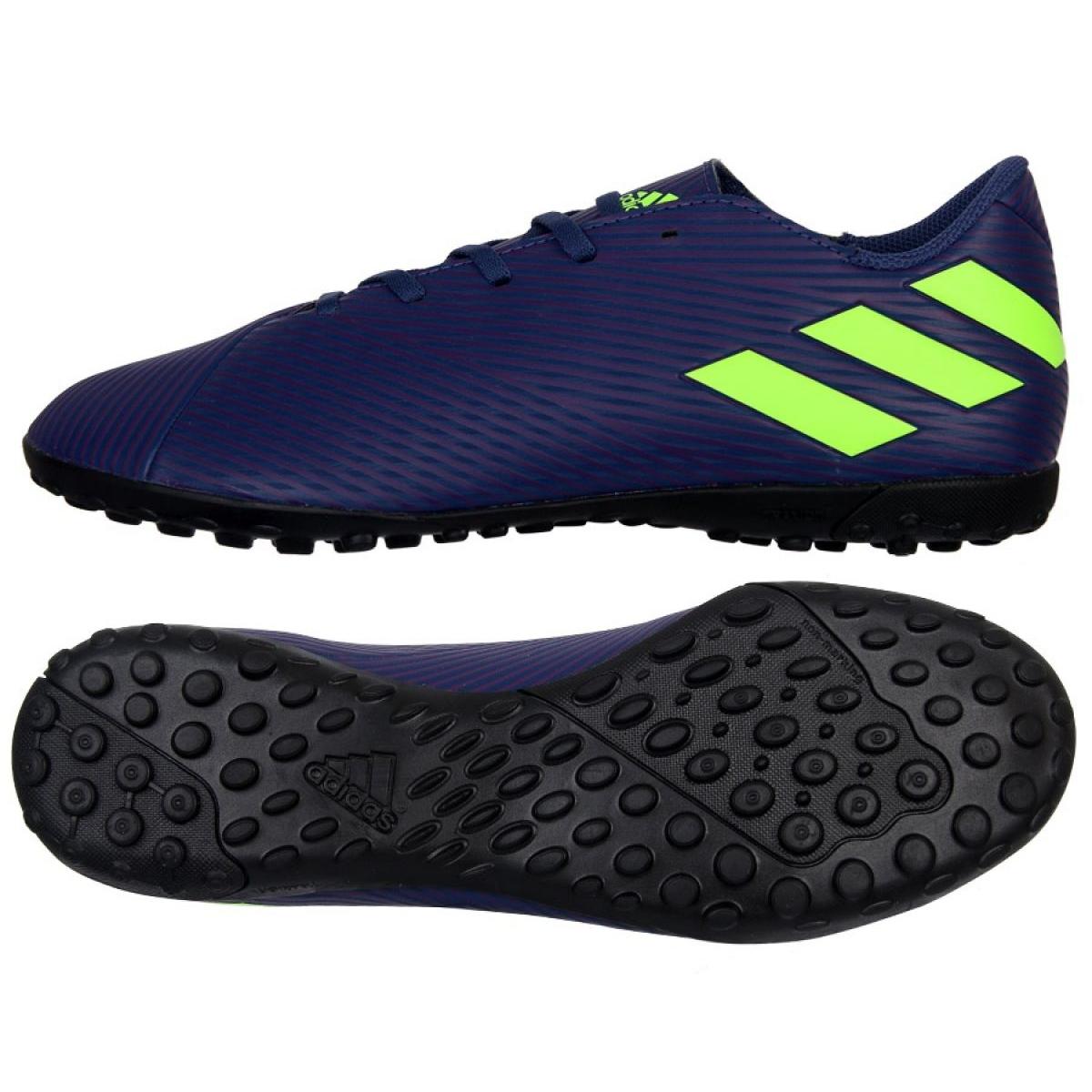 Adidas Nemeziz Messi 19.4 Tf M EF1805 sapatos marinha azul marinho