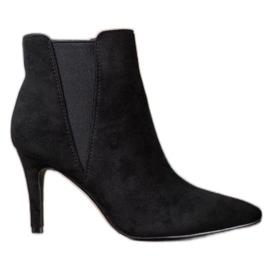Marquiz Botas de tornozelo preto