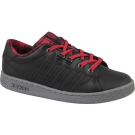 Sapatos K-Swiss Hoke Plaid Jr 85111-050 preto
