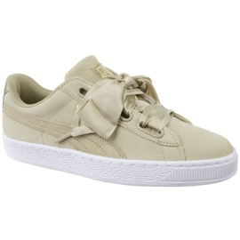 Sapatilhas Puma Basket Heart Metallic Safari W 364083-01