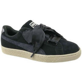 Sapatilhas Puma Basket Heart Metallic Safari W 364083-03 preto
