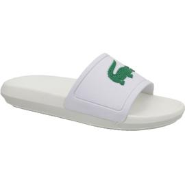 Chinelos Lacoste Croco Slide 119 3 W 737CFA0005082 branco