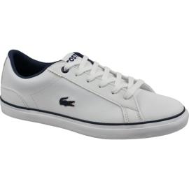 Sapatos Lacoste Lerond Bl 2 Jr 737CUJ0027042 branco