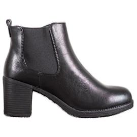 J. Star Botas de tornozelo preto