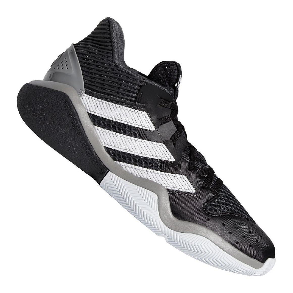 Tênis de basquete adidas Harden Stepback M EF9893 preto