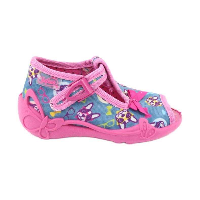 Sapatos infantis Befado rosa 213P113