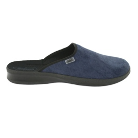 Sapatos masculinos befado pu 548M018 preto marinha
