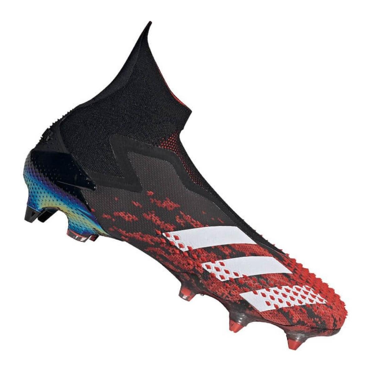 Adidas sapatos Predator 20+ Sg M EF1567 preto, vermelho