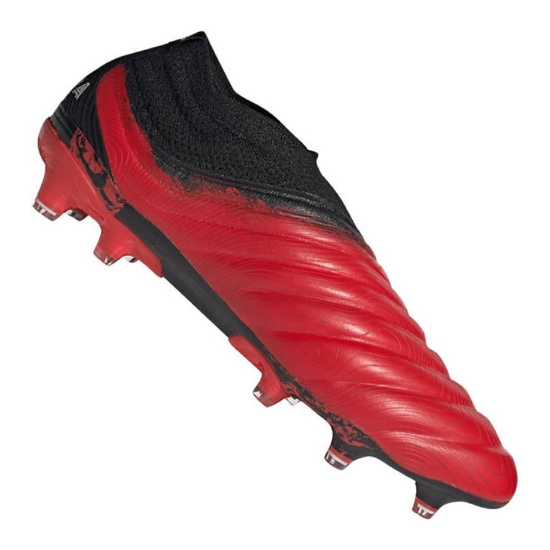 Sapatos Adidas Copa 20+ Fg M G28741 preto, vermelho vermelho