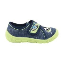 Calçado infantil Befado 557P138 marinha verde