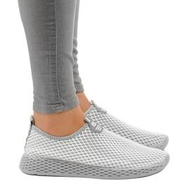 Calçados esportivos femininos cinza SJ1890-2