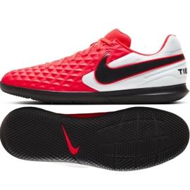 Sapatos de interior Nike Tiempo Legend 8 Academy Club Ic M AT6110 606 vermelho vermelho