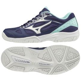 Mizuno Sapatilhas de voleibol Wave Voltage Branco Azul 40