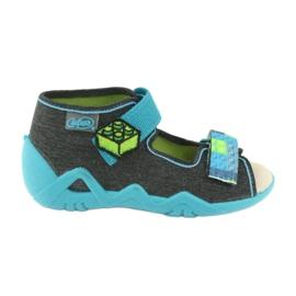 Sapatos infantis Befado amarelo 350P006