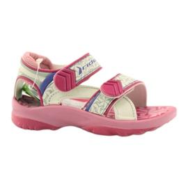 Sandálias rosa sapatos infantis para água Rider 80608