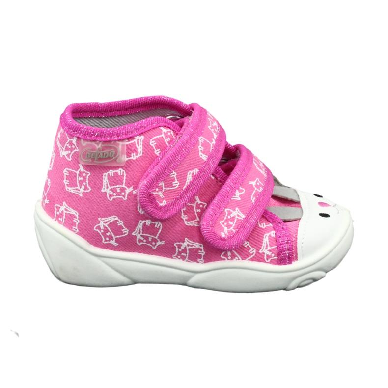 Calçado infantil laranja Befado 212P066 -de-rosa