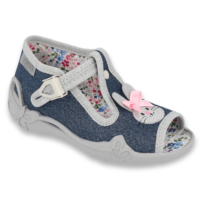 Calçado infantil Befado 213P119 cinza
