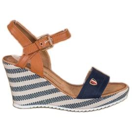 Goodin Sandálias de cunha na moda
