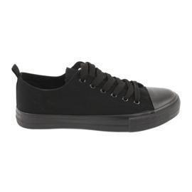 Sapatilhas pretas American Club LH16 preto