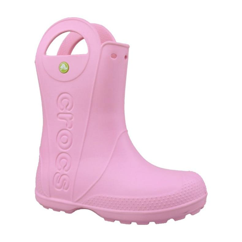 Crocs Handle It Rain Boot Kids Jr 12803-6I2 rosa