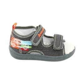 American Club Sandálias americanas sapatos infantis palmilha de couro TEN46