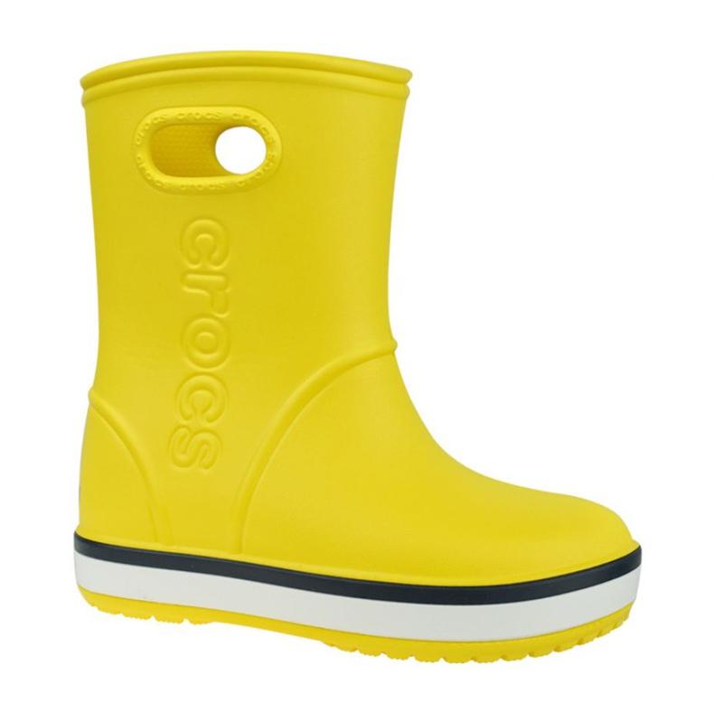 Crocs Crocband Rain Boot Kids 205827-734 vermelho amarelo