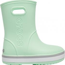 Botas de chuva Crocs para crianças Bota de chuva Crocband Kids verde 205827 3TO