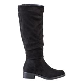 Sweet Shoes Botas de camurça preto