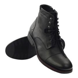 Botas de inverno com Pilpol 6009 zip black preto 3