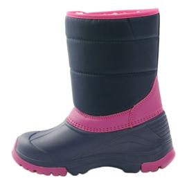 American Club Botas de inverno botas americanas super leves azul marinho rosa 2