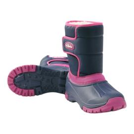 American Club Botas de inverno botas americanas super leves azul marinho rosa 3