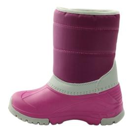 American Club Botas de inverno botas americanas superleves rosa cinza 2