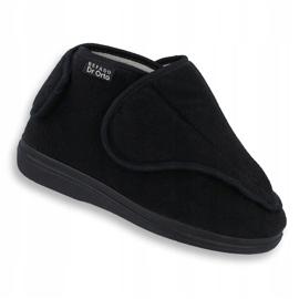 Sapatos de mulheres Befado pu orto 163D002 preto 1