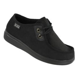 Sapatos femininos Befado pu 871D004 preto 1