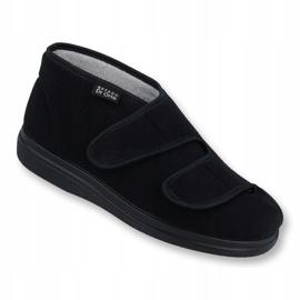 Sapatos masculinos Befado pu 986M003 preto 1
