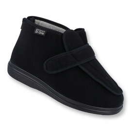 Sapatos femininos Befado pu orto 987D002 preto 1