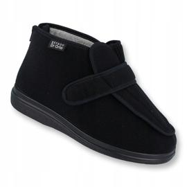 Sapatos masculinos befado pu orto 987M002 preto 1