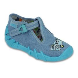 Sapatos infantis Befado 110P320 azul 1