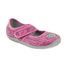 Sapatos infantis Befado 945X325 -de-rosa 2