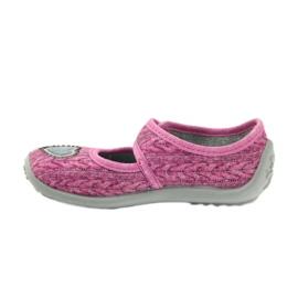 Sapatos infantis Befado 945X325 -de-rosa 3