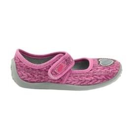 Sapatos infantis Befado 945X325 -de-rosa 1