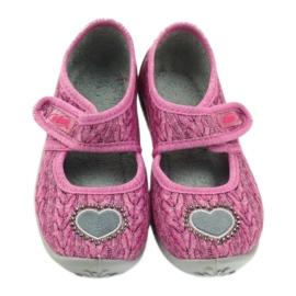 Sapatos infantis Befado 945X325 -de-rosa 4