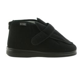 Sapatos masculinos befado pu orto 987M002 preto 2