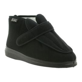 Sapatos masculinos befado pu orto 987M002 preto 3