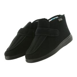 Sapatos masculinos befado pu orto 987M002 preto 4