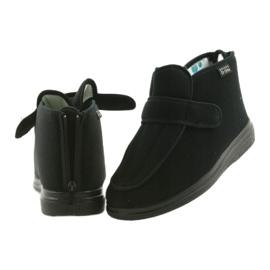 Sapatos masculinos befado pu orto 987M002 preto 7