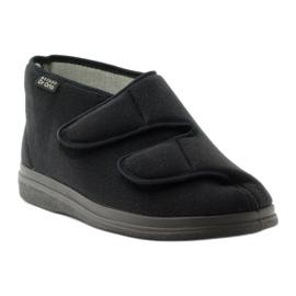 Sapatos masculinos Befado pu 986M003 preto 2