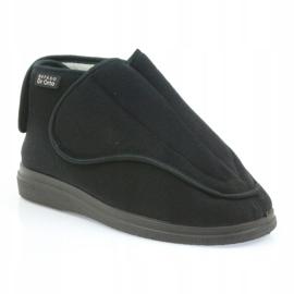 Sapatos de mulheres Befado pu orto 163D002 preto 2