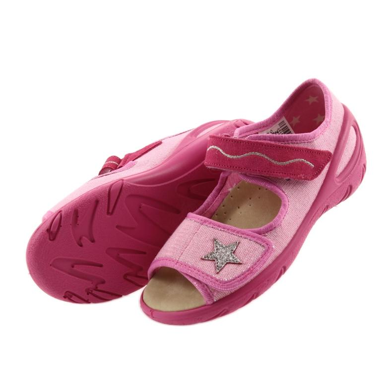 -de-rosa Sapatos infantis Befado pu 433X032 retrato 5