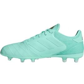 Sapatos de futebol adidas Copa 18.2 FG M DB2446 azul 2